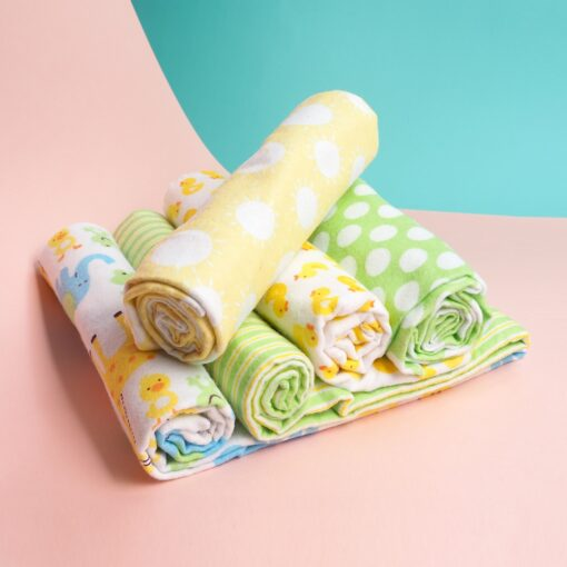 4 Pcs Lot Baby Blankets Newborn Muslin 100 Cotton Flannel Muslin Diapers Baby Swaddle For Photography