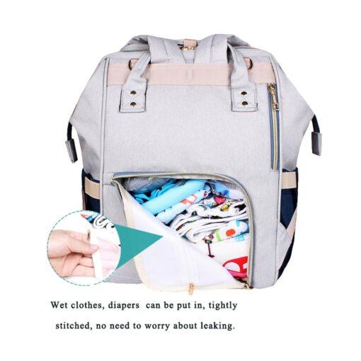 40 Colors Large Capacity Diaper Bag Mummy Maternity Nappy Nursing Baby Bags Travel Backpacks Women s 2
