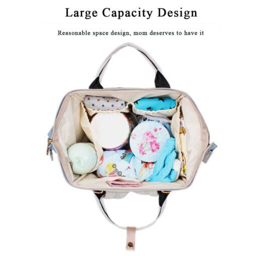 40 Colors Large Capacity Diaper Bag Mummy Maternity Nappy Nursing Baby Bags Travel Backpacks Women s 3