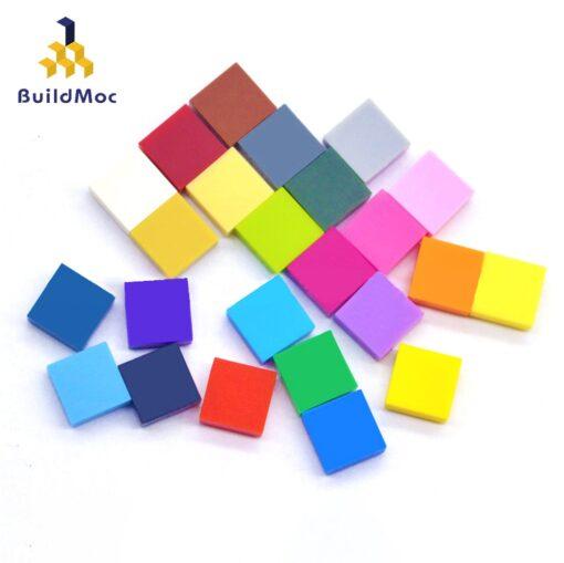 400pcs DIY Building Blocks Bricks Figure Smooth 1x1 24 Color Educational Creative Size Compatible With lego