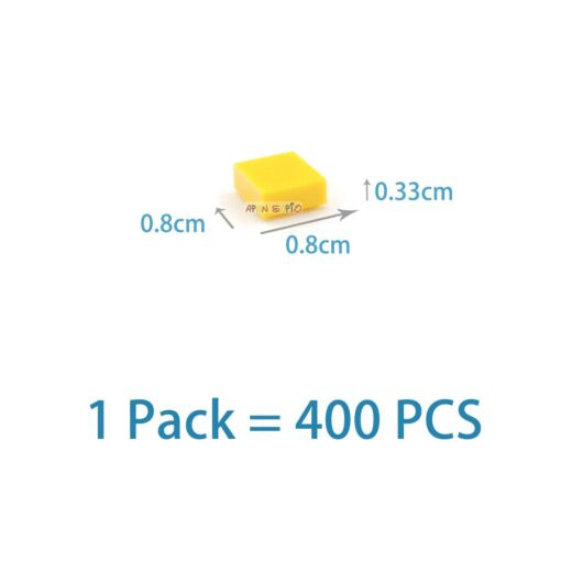 400pcs DIY Building Blocks Figure Bricks Smooth 1x1 24Color Educational Creative Size Compatible With lego Toys 1