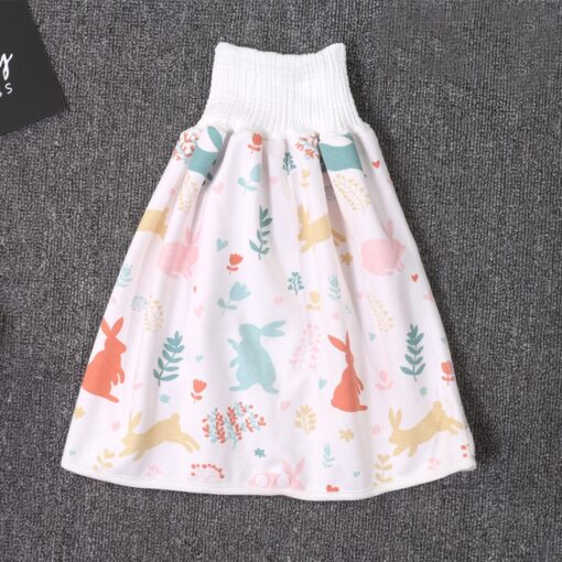 45 0 8y Baby Diaper Skirt Waterproof Cotton Training Pants Cloth Colorful Animal Dinosaur Print 1