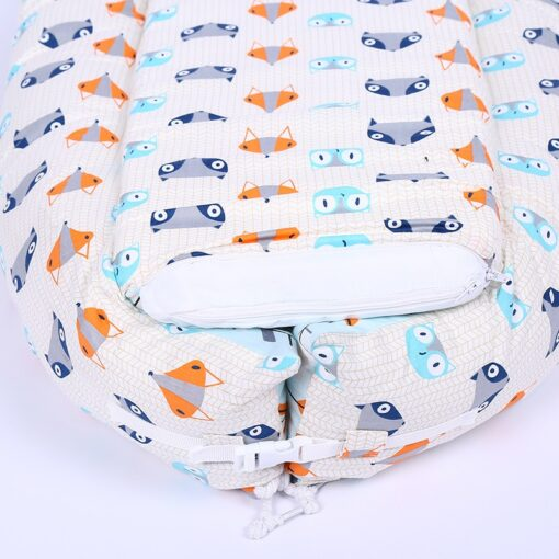 45 80CM Portable Baby Nest Bed for Boys Girls Travel Bed Infant Cotton Cradle Sleeping Cribs 2