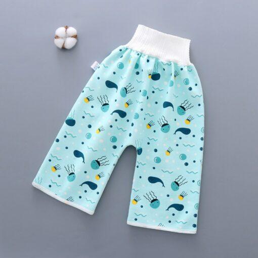 45 New Hot Infant Children Waterproof Diaper Shortscomfy Children s Diaper Waterproof And Leakproof Elastic 1
