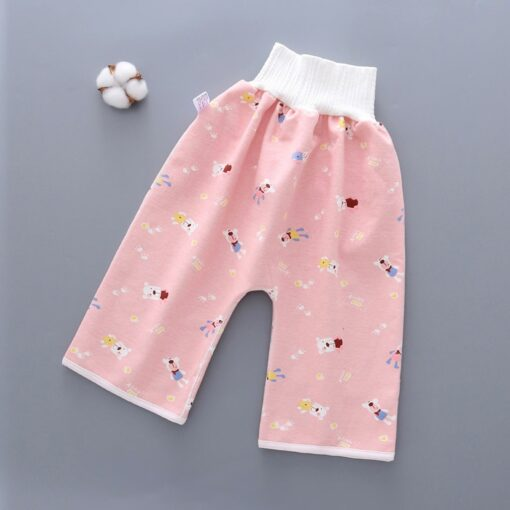 45 New Hot Infant Children Waterproof Diaper Shortscomfy Children s Diaper Waterproof And Leakproof Elastic 2