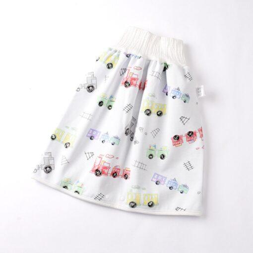48 0 8Y Infant children waterproof diaper skirt washable Reusable Urine Pad baby cotton diaper 2