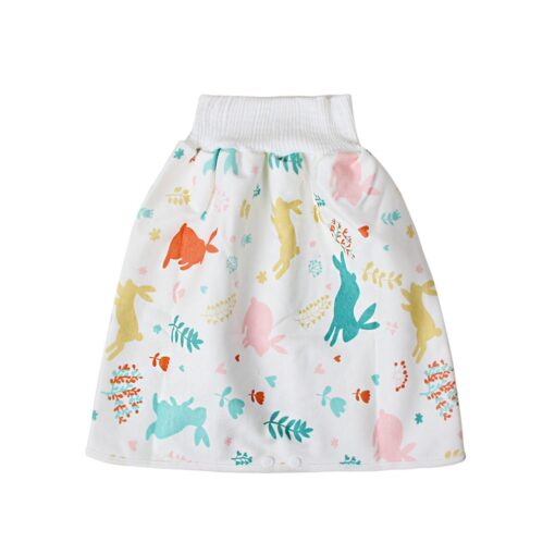 48 Childrens Diaper Skirt Shorts 2 in 1 Waterproof and Absorbent Shorts for Baby Toddler 2
