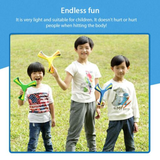 4Colors Boomerang Children s Toy Puzzle Decompression Outdoor Products Juegos Para Games For Kids Giochi Bambini 4