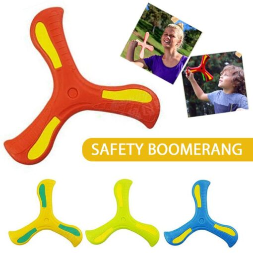 4Colors Boomerang Children s Toy Puzzle Decompression Outdoor Products Juegos Para Games For Kids Giochi Bambini