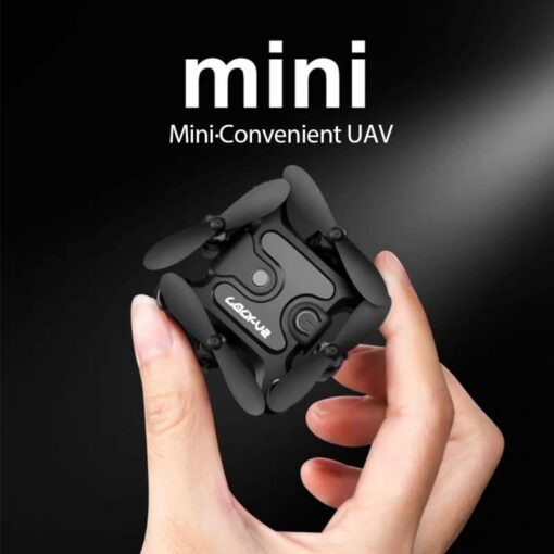 4K Mini Folding Drone WIFI Remote Control Aircraft Aerial Photography Fixed Height Four Axis Aircraft Helicopter 11