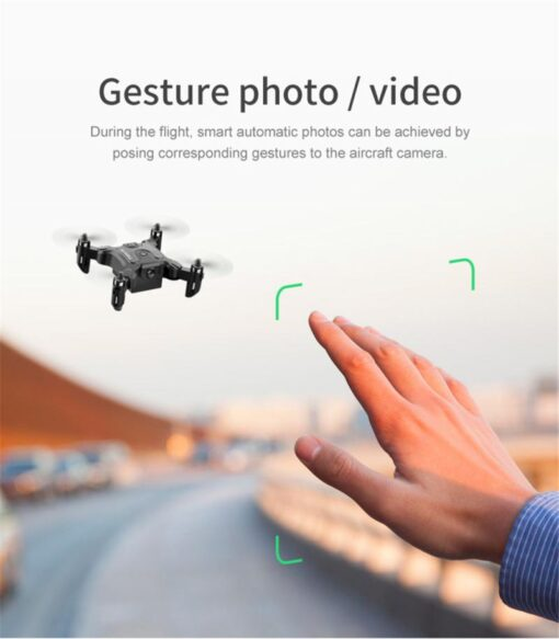 4K Mini Folding Drone WIFI Remote Control Aircraft Aerial Photography Fixed Height Four Axis Aircraft Helicopter 8