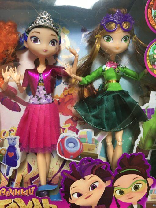 4pcs lot 28cm 9 joints can move Fairy Fantasy Patrol Doll MAWA AEHKA BAPR CHE KA 3 scaled