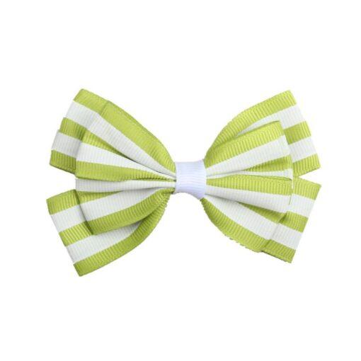 5 1 Pcs Girls Hair Clip Fashion Children Baby Toddler Newborn Stripe Cute Bow Knot Beautiful 5