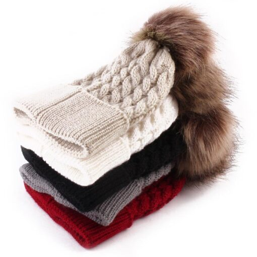 5 Colors 2018 Newborn Cute Winter Kids Baby Hats Knitted Wool Hemming Hat photography props nice 3