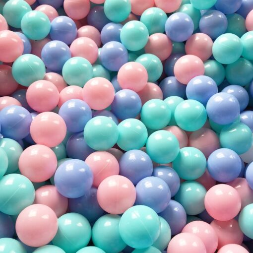 50 100 Pcs Eco Friendly Colorful Ball Pit Soft Plastic Ocean Ball Water Pool Ocean Wave 2