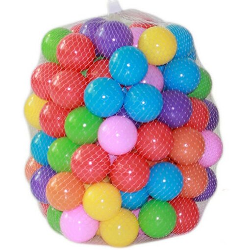 50 100 Pcs Eco Friendly Colorful Ball Pit Soft Plastic Ocean Ball Water Pool Ocean Wave 3