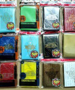 50 pcs set Yu Gi Oh KMC Game Card sleeves yugioh play card Protecter toy ZEXAL