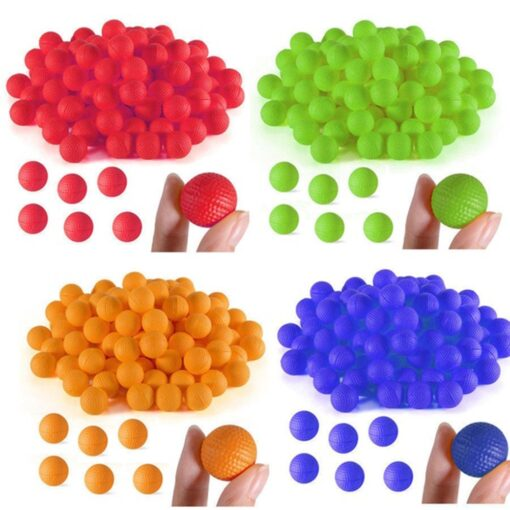 50Pcs Rounds Foam Ammo Refill Replace Bullet Balls Pack Children Kids Toy Compatible For Nerf Rival 2