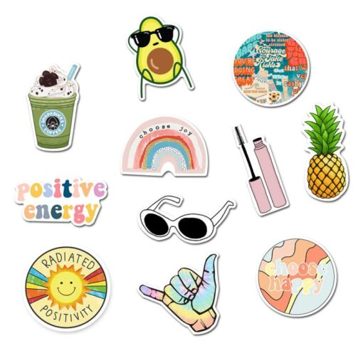 50pcs Mixed Cartoon Toy Stickers Stickers Waterproof Retro Style Stickers For Car Styling Bike Phone Laptop 2