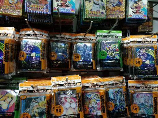 50pcs lot Anime Yu Gi Oh Dark Magician Girl yugioh Board Games play Card Sleeves Protector 3