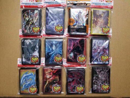 50pcs lot Anime Yu Gi Oh Dark Magician Girl yugioh Board Games play Card Sleeves Protector