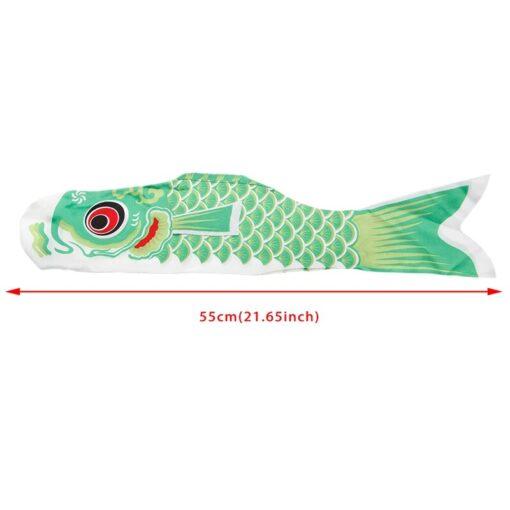 55cm 70cm 100cm 150cm Koi Nobori Carp Wind Socks Koinobori Colorful Fish Flag Hanging Wall Decor 5