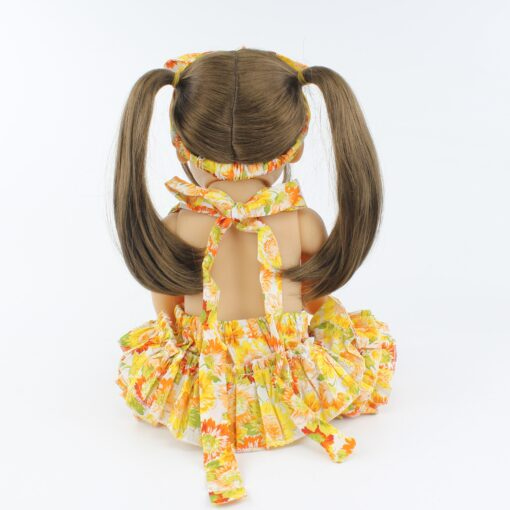 55cm Full Body Silicone Reborn Baby Doll Toy Realistic 22inch Vinyl Alive Babies Dress Up Princess 4