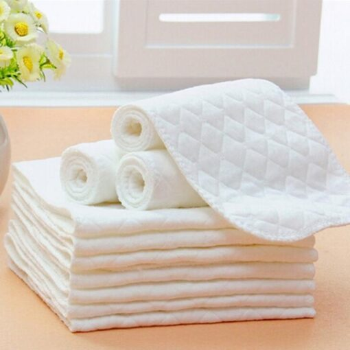 5PCS Baby diaper cloth baby insert Bamboo Eco cotton diapers Disposable Diapers baby nappy Baby stoffwindeln