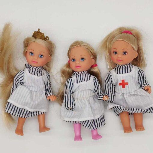 5PCS LOT 11cm Mini Kelly Dolls Toys For Girls Birthday Gift 5