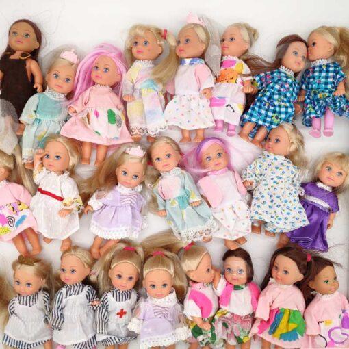 5PCS LOT 11cm Mini Kelly Dolls Toys For Girls Birthday Gift