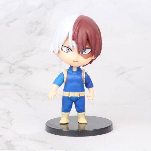5pcs set My Hero Academia Figure Toy Midoriya Izuku bakugo katsuki Todoroki Shoto Iida Tenya PVC 2