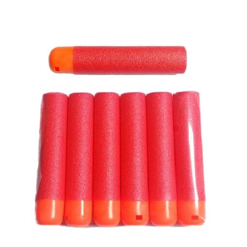 6 Pcs Hollow Soft Head 9 5cm Refill Darts for Nerf Series Blasters NEW STYLE Kid 1