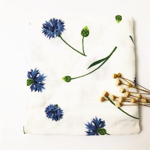 60 60cm Newborn Organic Cotton Bamboo Baby Blanket Muslin Swaddle Wrap Feeding Burpy Towel Scraf Bibs 1