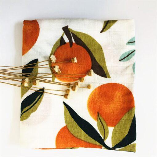 60 60cm Newborn Organic Cotton Bamboo Baby Blanket Muslin Swaddle Wrap Feeding Burpy Towel Scraf Bibs 3