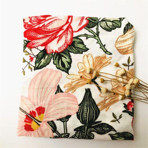 60 60cm Newborn Organic Cotton Bamboo Baby Blanket Muslin Swaddle Wrap Feeding Burpy Towel Scraf Bibs 4