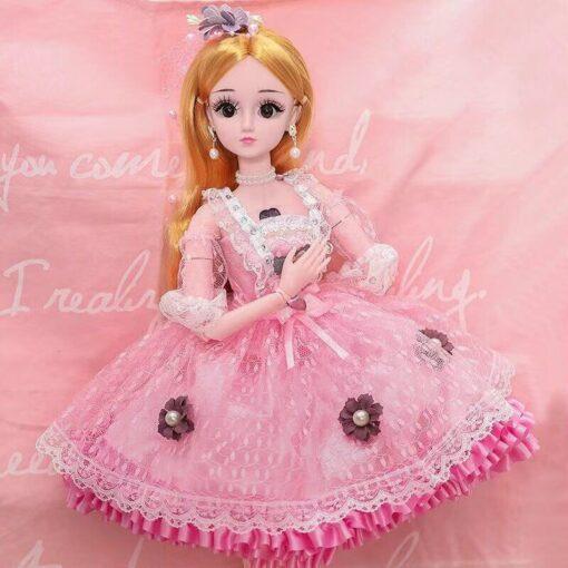60cm cute doll large original handmade 1 3 doll full set of 20 jointed doll girl 1