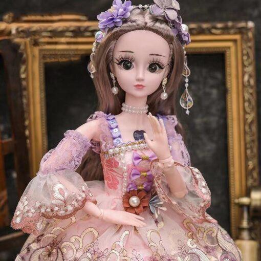 60cm cute doll large original handmade 1 3 doll full set of 20 jointed doll girl 2