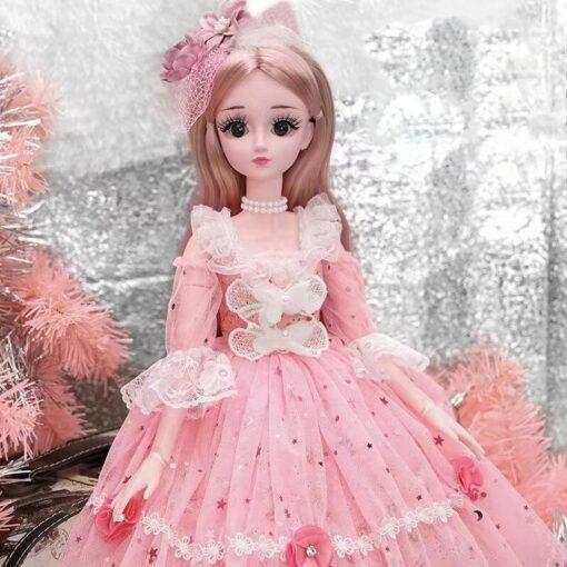 60cm cute doll large original handmade 1 3 doll full set of 20 jointed doll girl 3