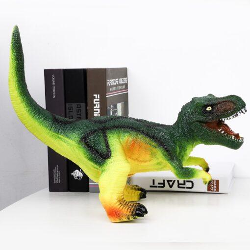 68CM Dinosaur Model Big Size Shark Plastic Puppets Tyrannosaurus Rex Velociraptor Jurassic Worlds Park Dinosaur Toys 2