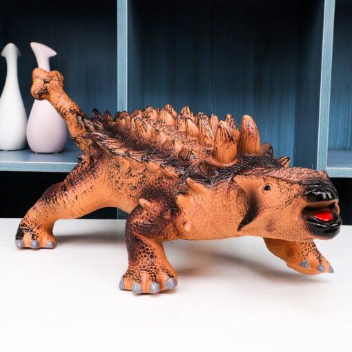 68CM Dinosaur Model Big Size Shark Plastic Puppets Tyrannosaurus Rex Velociraptor Jurassic Worlds Park Dinosaur Toys 4