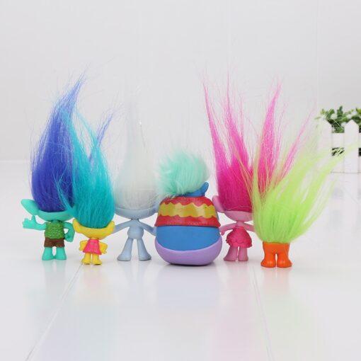 6Pcs 12pcs Trolls toys Action Toys Branch Critter Skitter Figures Trolls Children Action Figure Toy children 3