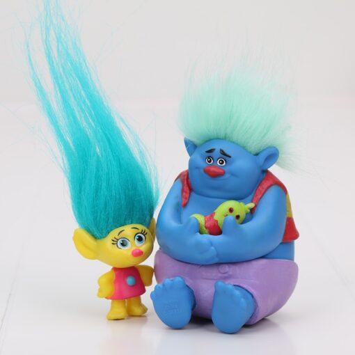 6Pcs 12pcs Trolls toys Action Toys Branch Critter Skitter Figures Trolls Children Action Figure Toy children 4