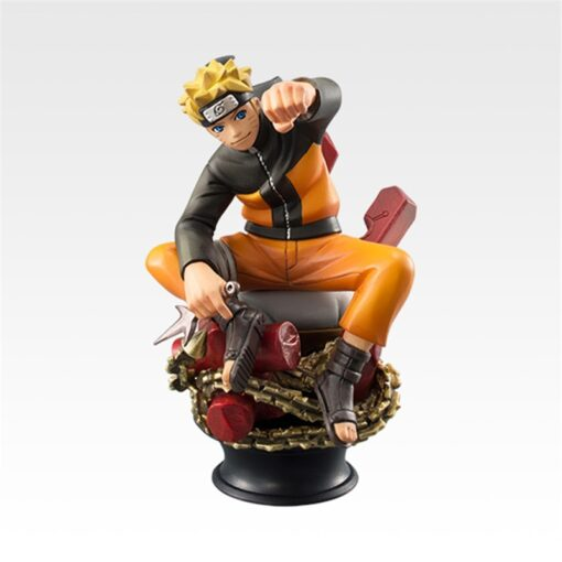 6pcs Set Naruto Actionable Dolls Chess New Pvc Anime Naruto Sasuke Jiala Model Decoration Decoration Gift 2