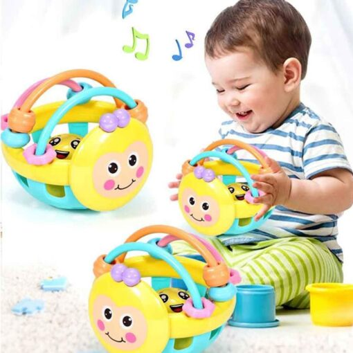 6pcs set Baby Toy Ball Set Develop Baby s Tactile Senses Toy Touch Hand Ball Toys 5