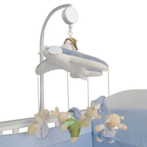 72cm Baby Bed Hanging Rattles Toys Hanger DIY Hanging Baby Crib Mobile Bed Bell Toy Holder 5