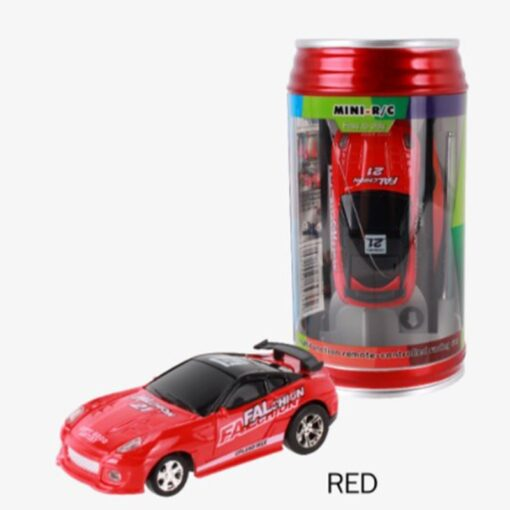 8 Colors 20KM H Coke Can Mini RC Car Radio Remote Control Micro Racing Car 4 1
