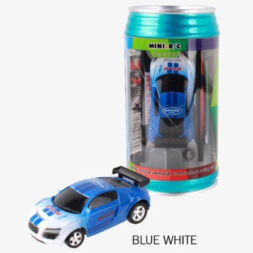 8 Colors 20KM H Coke Can Mini RC Car Radio Remote Control Micro Racing Car 4 2