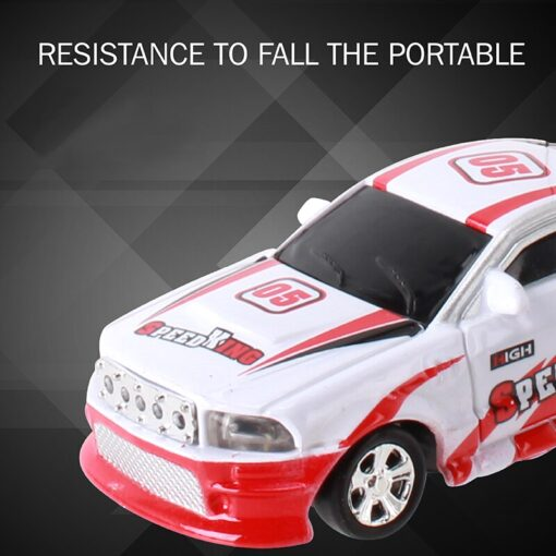8 Colors 20KM H Coke Can Mini RC Car Radio Remote Control Micro Racing Car 4 5