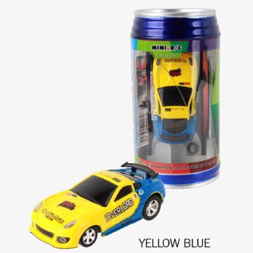 8 Colors 20KM H Coke Can Mini RC Car Radio Remote Control Micro Racing Car 4