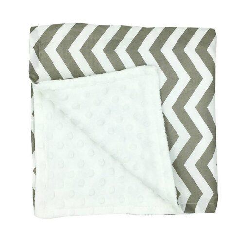 80 75cm Baby Bedding Blankets Kids Sleeping Blanket Soft Striped Blanket Infant Swaddle Nap Receiving Stroller 1